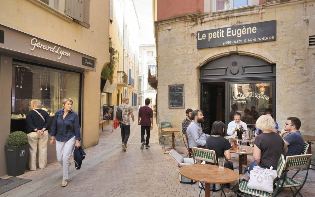 La rue sainte-Eugénie