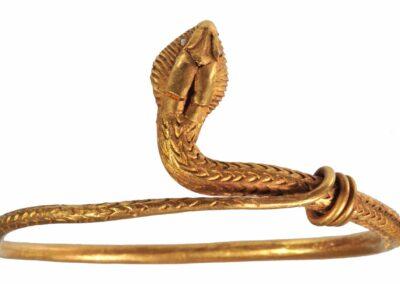 Bracelet en or, 1er siècle ap JC Pompéi copie