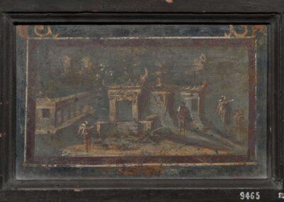 Fresque retrouvée à Pompei