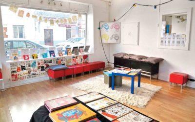 L'Archipel ouvre sa librairie de BD alternative