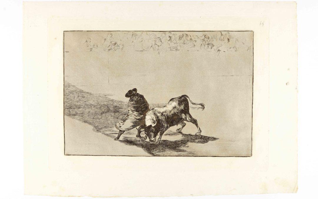 Tauromaquia et goyesque : les Corridas de Goya