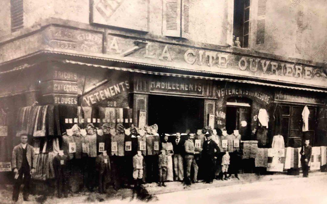 Un magasin historique en cœur de ville