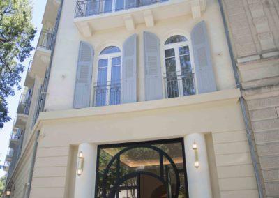 Hotel Imperator entree - Nimes