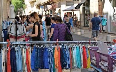 Une association de commerçants au cœur de Nîmes