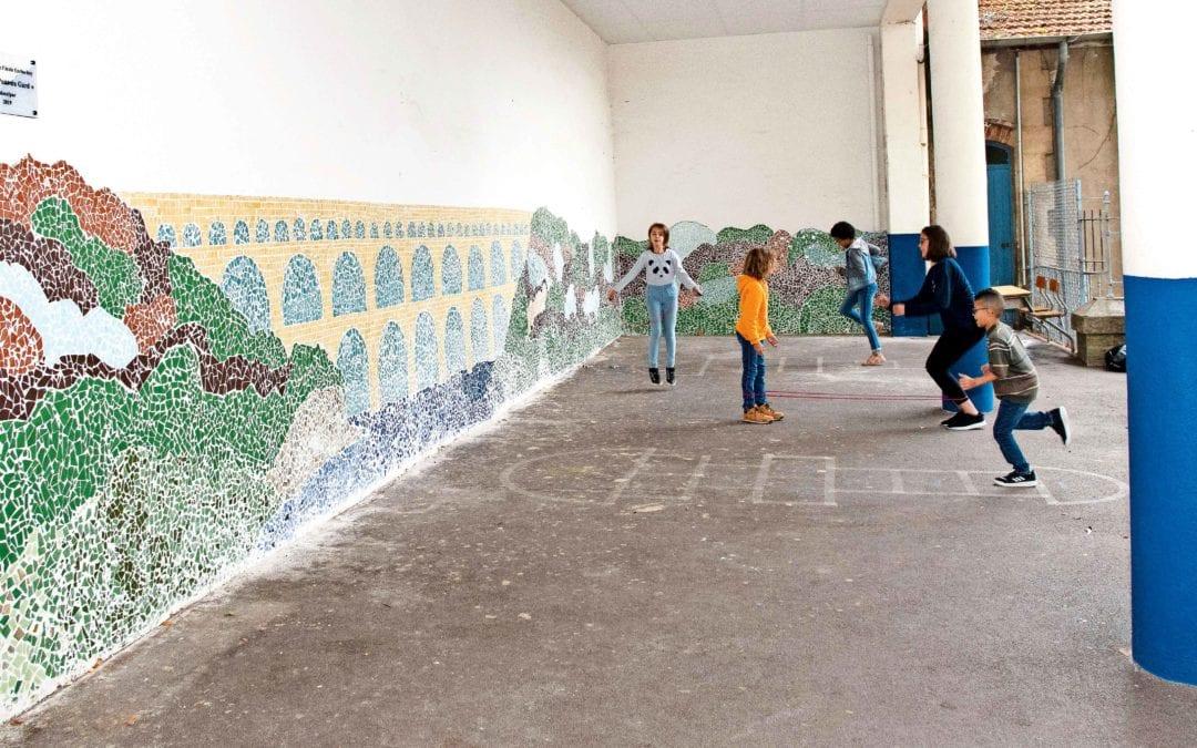 La mosaïque s'invite à l'école