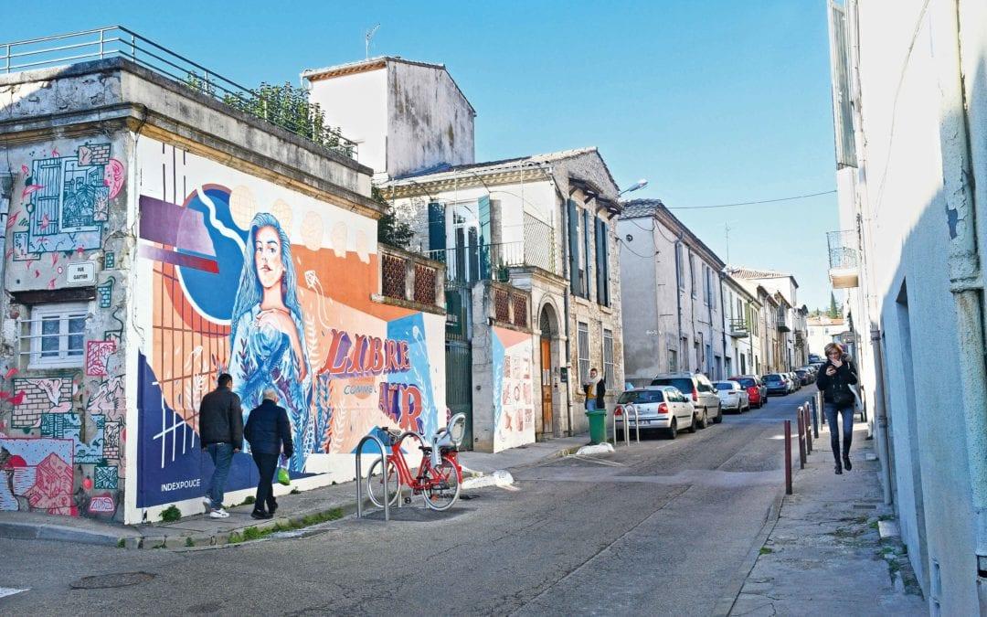 La rue porte d'Alès