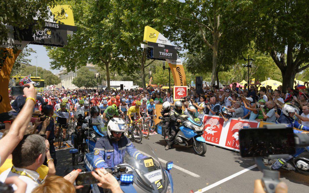Nîmes, ville étape du Tour de France 2021