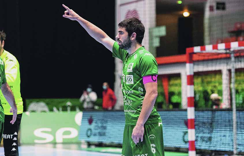 Julien Rebichon, capitaine de la Green Team
