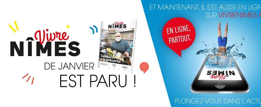 Votre Vivre Nîmes de janvier est en ligne !
