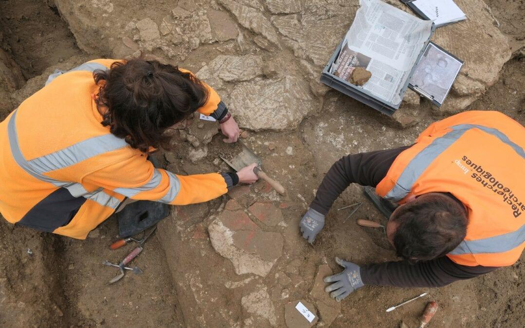 Deux maisons romaines découvertes