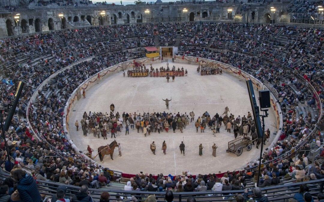 Les Grands Jeux Romains se dérouleront les 8, 9 et 10 octobre