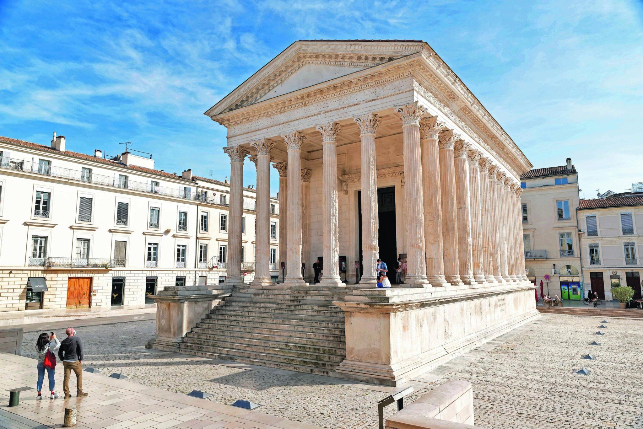 Unesco : La Maison Carrée candidate