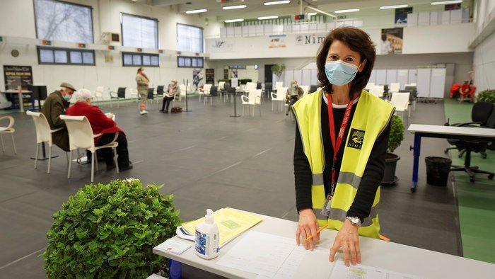 Centre de vaccination : la Ville accélère
