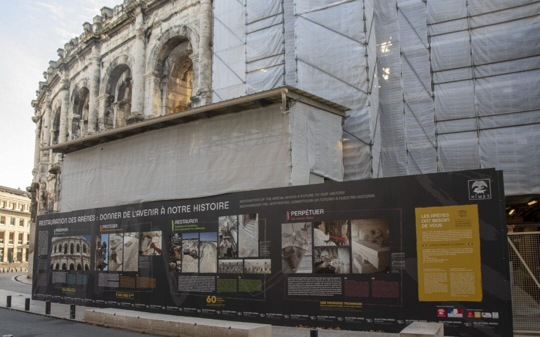 Restauration des Arènes : 250 000 euros de dons