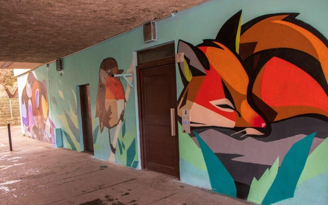 Le street art en réponse aux incivilités