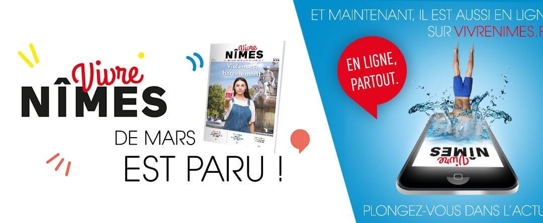 Votre Vivre Nîmes de mars est en ligne !