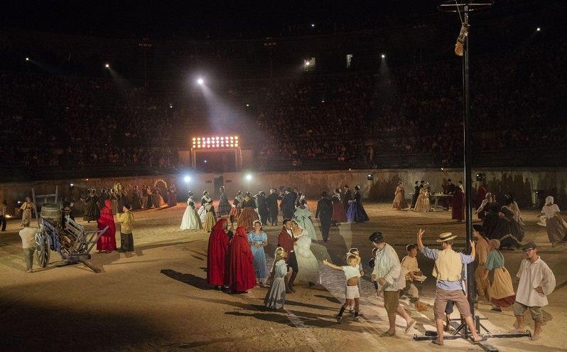 Les Nuits de Nemaus dans les Arènes de Nîmes en août