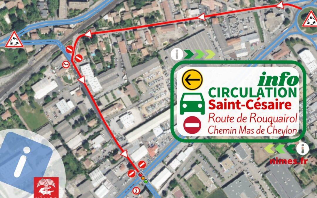 Saint-Césaire : nouveau sens de circulation