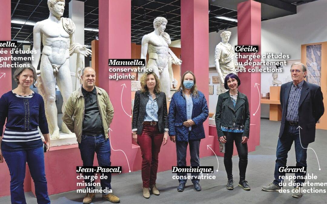 Ils ont conçu l'exposition du Musée de la Romanité