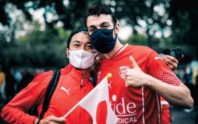 Shunsuke: le japonais fan de nîmes olympique