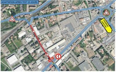 Un test de circulation à Saint-Césaire