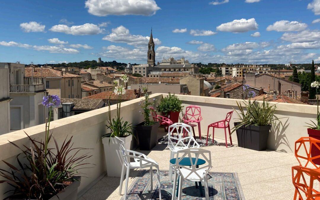 Ces hôtels qui parient sur Nîmes : Vertigo