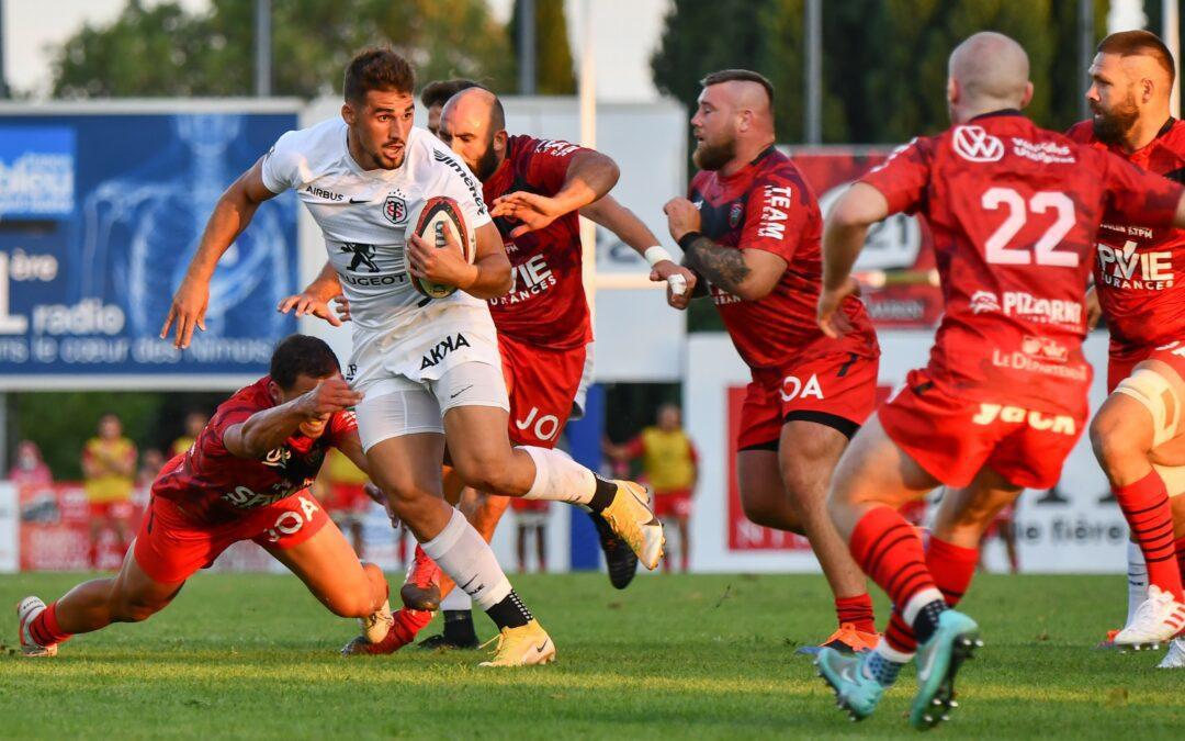 Rugby : Retour en images sur l'écrasante victoire du Stade Toulousain