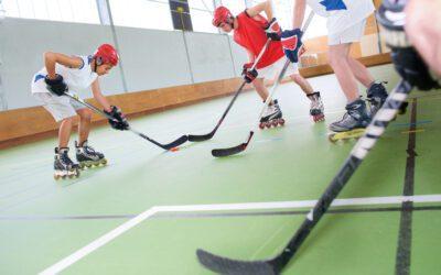 Ça roule pour le roller hockey