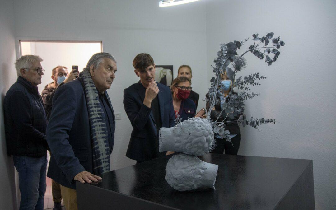 Première exposition au Centre Culturel de Pissevin