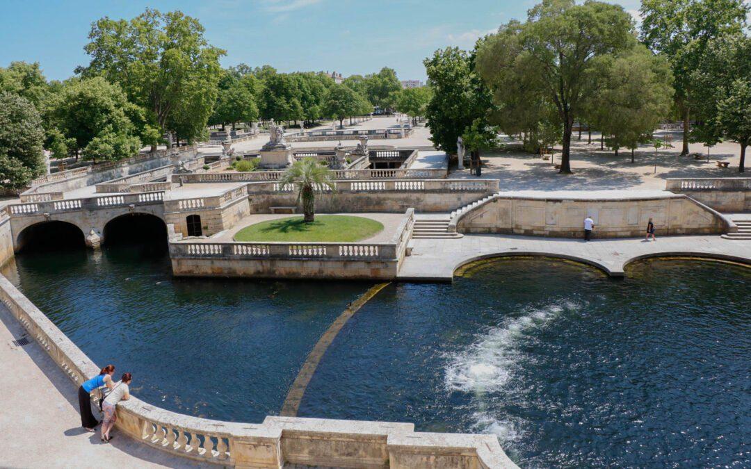 Les Jardins de la Fontaine dans les plus beaux jardins du monde